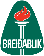 Breidablik - Logo