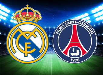 Real Madrid and PSG to finish all square