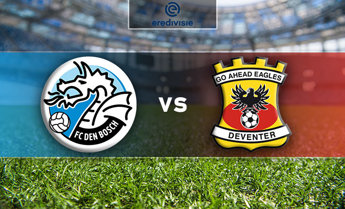 FC Den Bosch and Go Ahead Eagles clash in second leg of Dutch promotion playoffs