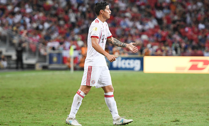 Premier League a good option for James Rodriguez