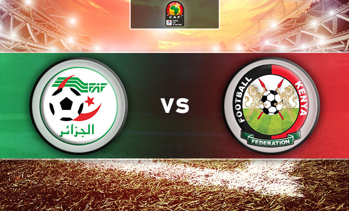 Kenya no match for Algeria