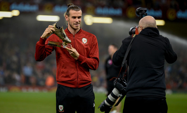Gareth Bale appreciated by the Wales fans anyway