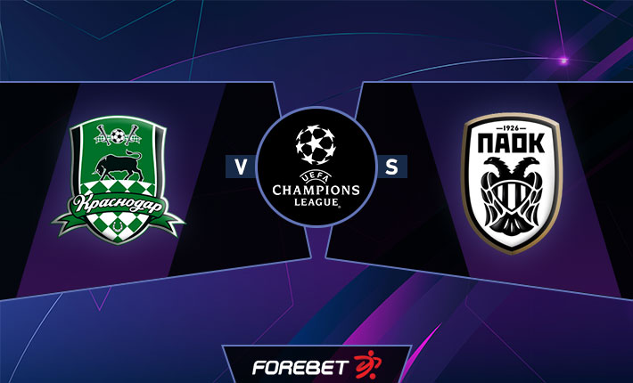 Fk Krasnodar Vs Paok Salonica Preview 22 09 2020 Forebet