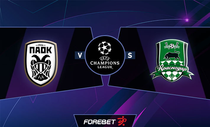 Paok Salonica Vs Fk Krasnodar For Mpreview 30 09 2020 Forebet