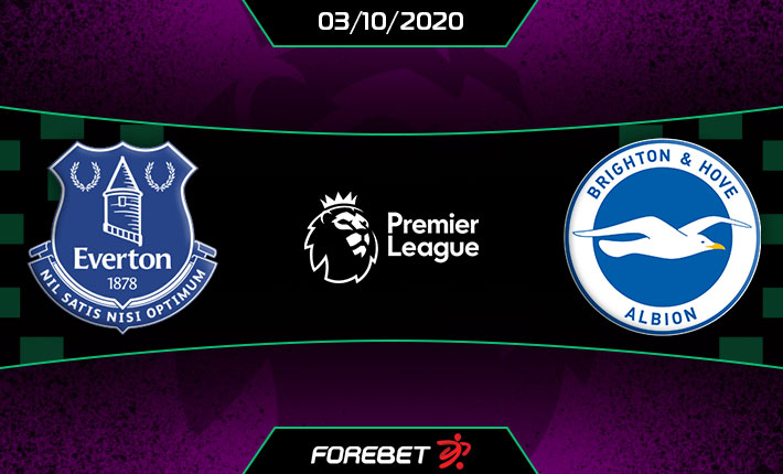 Everton Vs Brighton Preview 03 10 2020 Forebet
