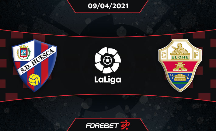Huesca could edge the points against Elche